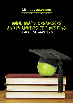 Cover of Mind Maps, Organisers and Planners for Writing - Blackline Masters