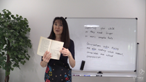 Clip from Guided Writing workshop video